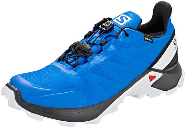 Salomon Supercross GTX Sko Herrer, lapis blueblackwhite